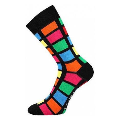 socks Lonka Woodoo - Mix H/Black/Oblong