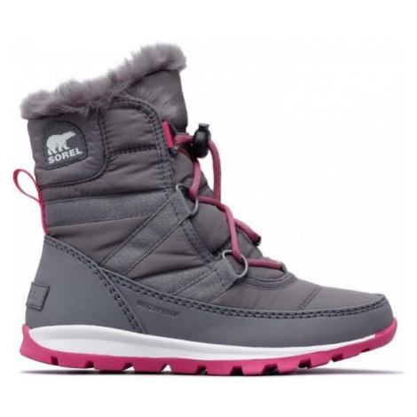 Sorel YOUTH WHITNEY SHORT gray - Kids' winter shoes