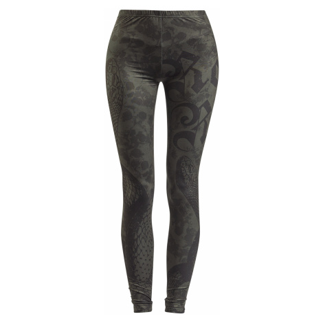 Rock Rebel by EMP - Built For Comfort - Leggings - dark green