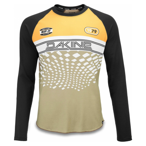 T-Shirt Dakine Dropout Jersey LS - Golden Glow/Stingray - men´s