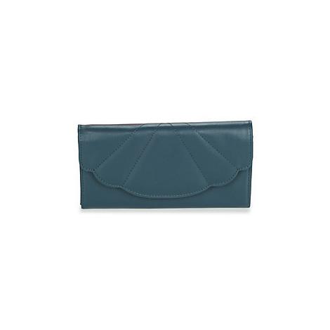 Blue women's wallets