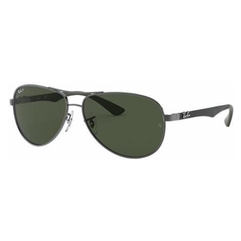 Ray-Ban Rb8313 Man Sunglasses Lenses: Green Polarized, Frame: Grey - RB8313 004/N5 61-13