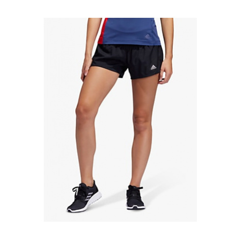 Adidas Run It 3-Stripes PB Running Shorts, Black