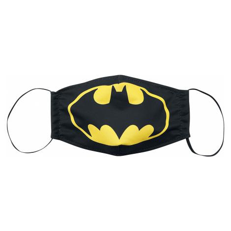 Batman - Batman Logo - Mask - black-yellow