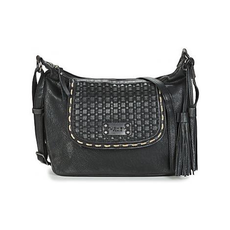 Fuchsia COLLINS women's Shoulder Bag in Black