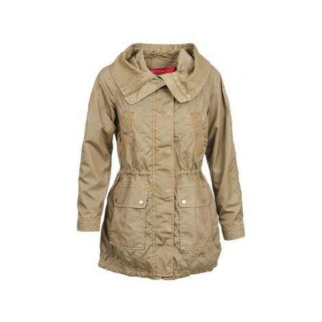Tommy Hilfiger JANINE women's Trench Coat in Beige