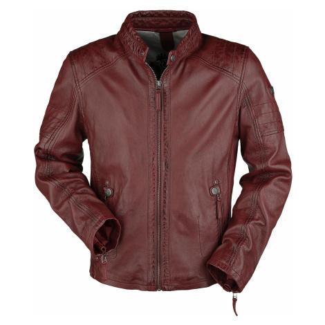 Gipsy - GBWeaton LWAWV - Leather jacket - red
