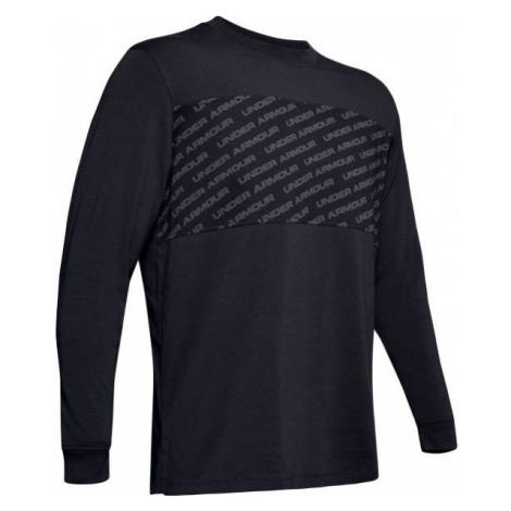 Under Armour UNSTOPPABLE WORDMARK LS black - Men's long sleeve T-shirt