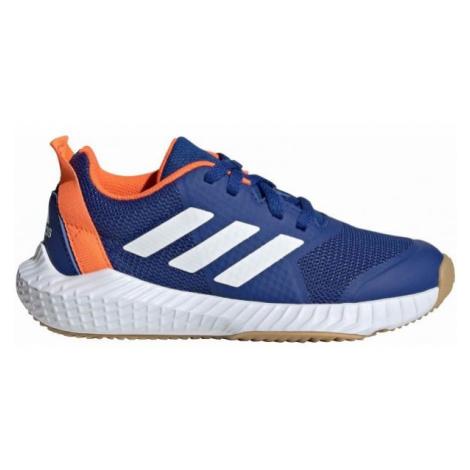 adidas FORTAGYM K blue - Kids' indoor shoes