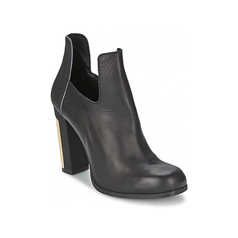 Miista CIARA women's Low Ankle Boots in Black