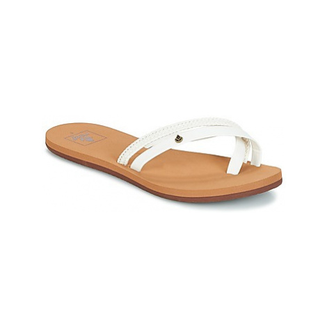 Reef REEF O'CONTRARE LX women's Flip flops / Sandals (Shoes) in White
