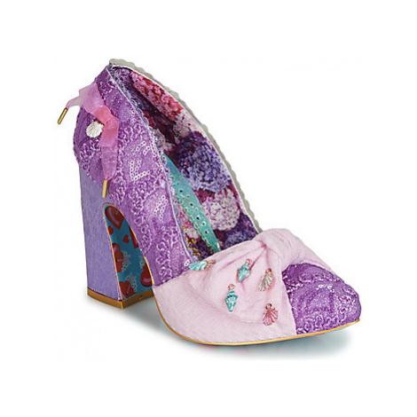 Irregular Choice TI AMO women's Court Shoes in Purple