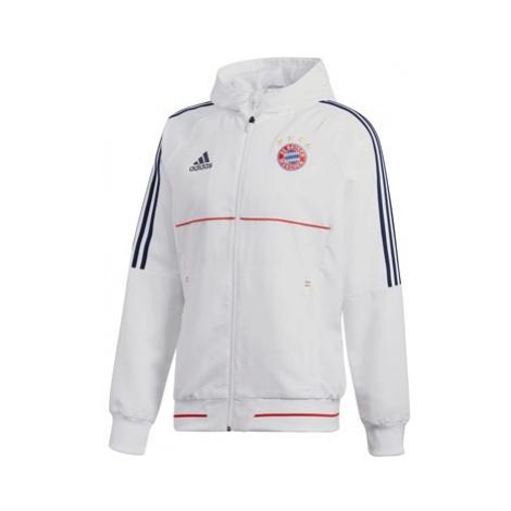 FC Bayern Presentation Jacket - White Adidas