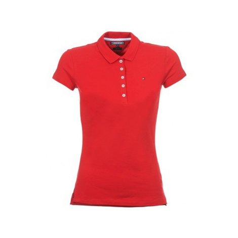 Tommy Hilfiger NEW CHIARA women's Polo shirt in Red