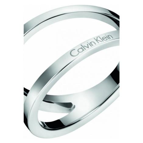 Ladies Calvin Klein Stainless Steel Size N Outline Ring KJ6VMR000107