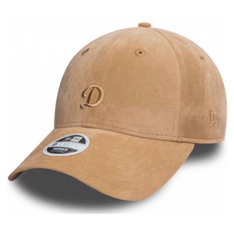 New Era 9FORTY W FELT LOS ANGELES DODGERS brown - Women's club baseball cap