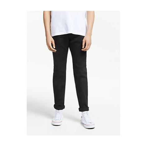 Diesel Larkee-Beex Regular Tapered Dark Denim Jeans, Black