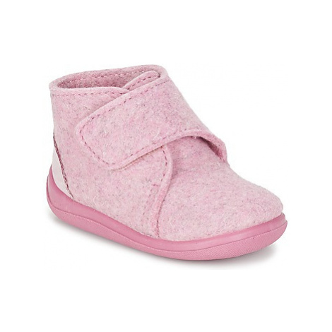 Citrouille et Compagnie FELINDRA girls's Children's Slippers in Pink