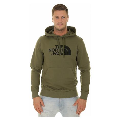 sweatshirt The North Face Light Drew Peak - Burnt Olive Green/TNF Black - men´s