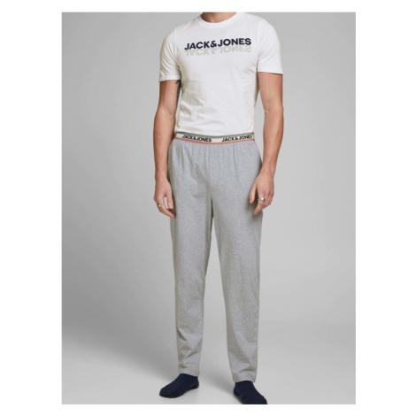 Jack & Jones Jacjones Pyjama White