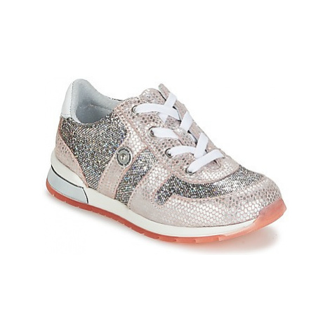 Catimini STEREE girls's Children's Shoes (Trainers) in Silver