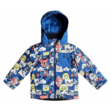 jacket Quiksilver Little Mission - BQC1/Daphne Blue/Animal Party - kid´s