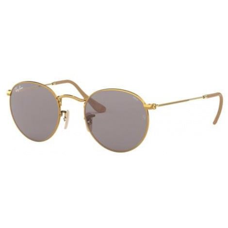 Ray-Ban Sunglasses RB3447 Round Metal 9064V8