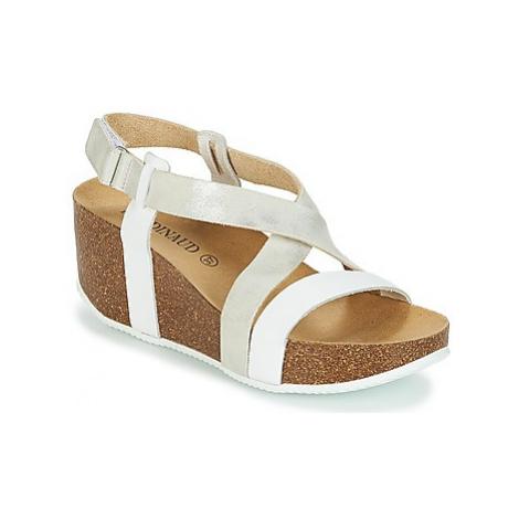 Rondinaud BLANDIN-BLANC women's Sandals in White