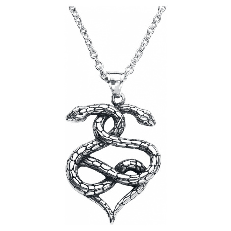 Wildcat - Snake Necklace - Necklace - silver-coloured