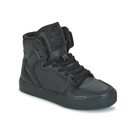 Supra KIDS VAIDER girls's Children's Shoes (High-top Trainers) in Black