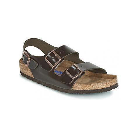 Birkenstock MILANO SFB men's Sandals in Brown