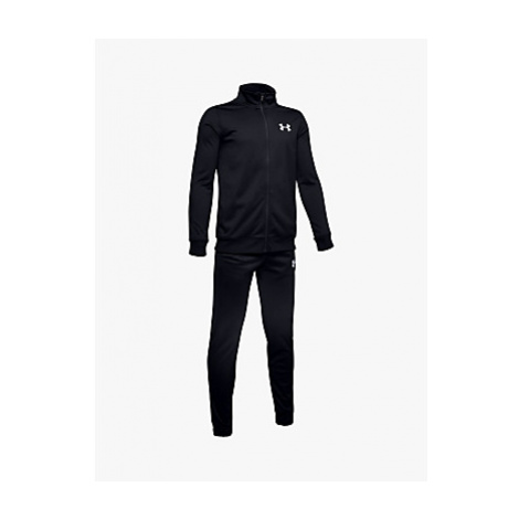 Under Armour Children's Knit Tracksuit, Black