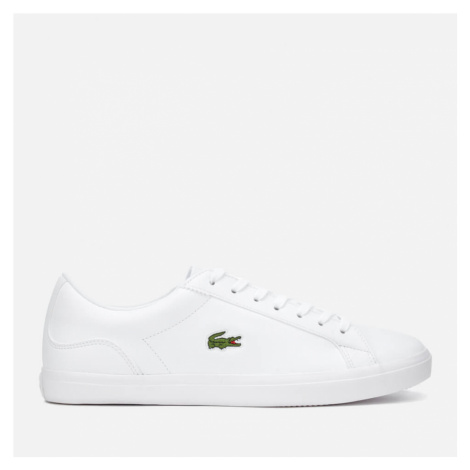 Lacoste Men's Lerond Bl 1 Leather Trainers - White - UK - White
