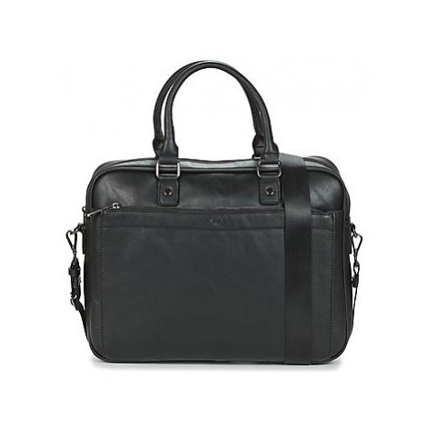 David Jones 796603 men's Briefcase in Black