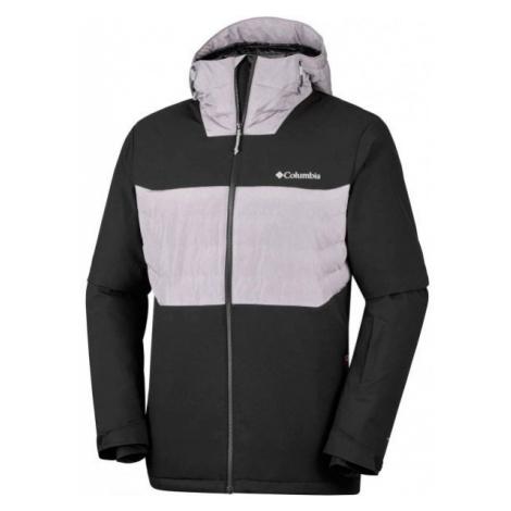 Columbia WHITE HORIZON HYBRID JACKET black - Men's water resistant jacket