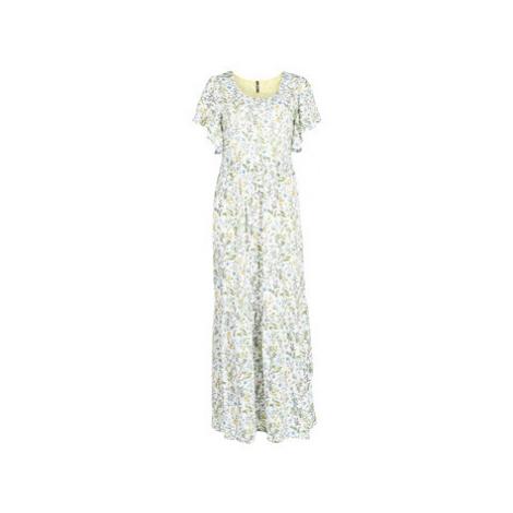 Smash SCARLETTE women's Long Dress in White