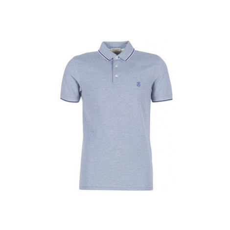 Selected SLHTWIST men's Polo shirt in Blue