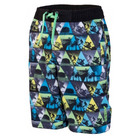 Aress ABOT green - Boys' shorts