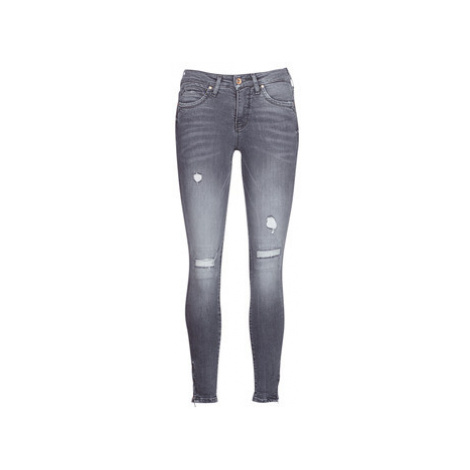 Only ONLKENDELL women's Skinny Jeans in Grey