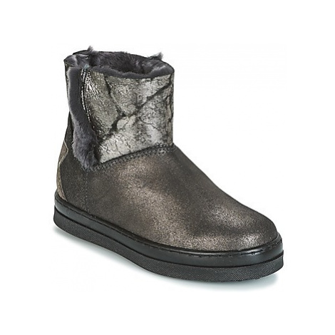 Unisa FIS girls's Children's Mid Boots in Silver