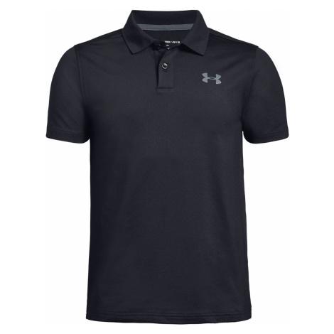 Under Armour Kids Polo Shirt Black