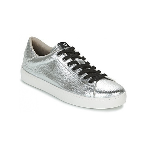 Victoria DEPORTIVO METALIZADO women's Shoes (Trainers) in Silver