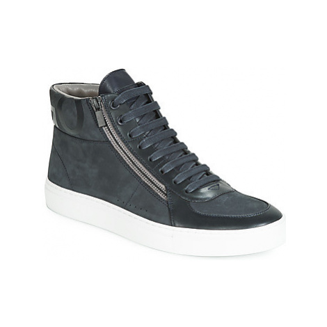 HUGO FUTURISM HITO NUZP men's Shoes (High-top Trainers) in Black Hugo Boss