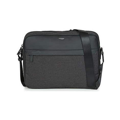 Hexagona MERCURE men's Messenger bag in Black
