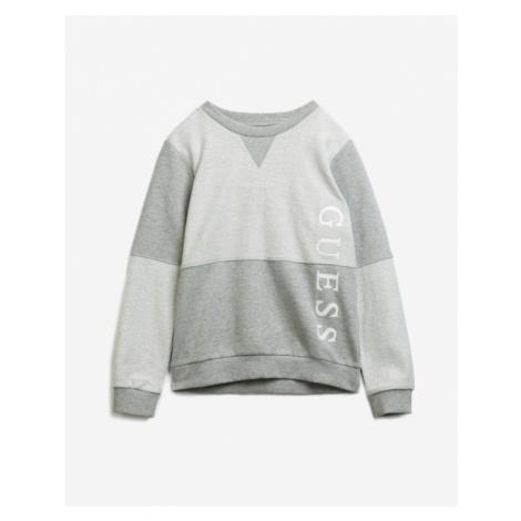 Guess Logo Kids Sweatshirt Grey