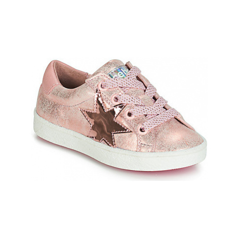 Acebo's STARWAY girls's Children's Shoes (Trainers) in Pink