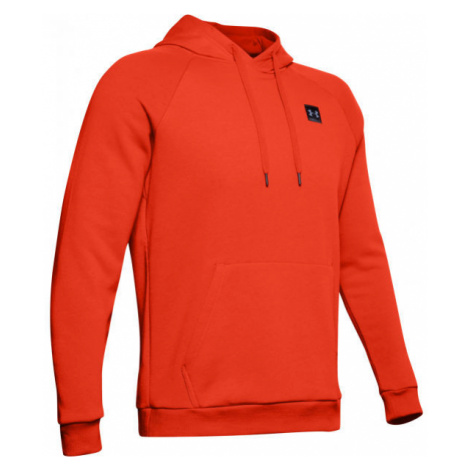 Under Armour RIVAL FLEECE PO HOODIE orange - Men's sweatshirt