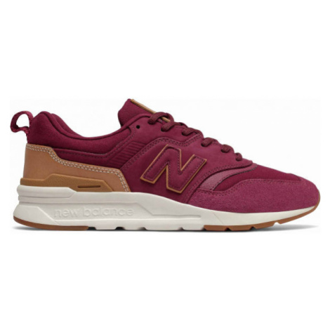 New Balance CM997HAE red - Men's leisure shoes