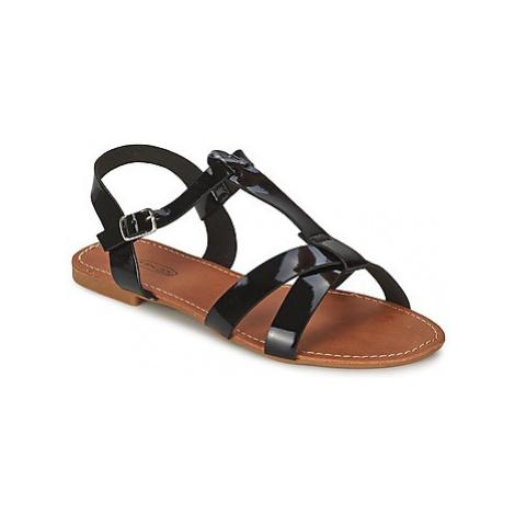 Spot on FELUNE women's Sandals in Black