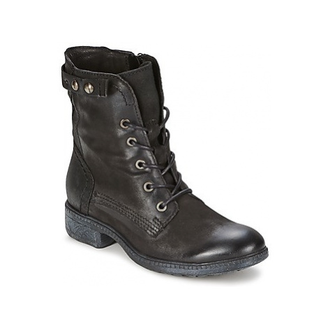 Dream in Green NAIM women's Mid Boots in Black